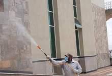 Photo of استمرار أعمال التطهير والتعقيم لكافة المنشأت بجامعة الزقازيق
