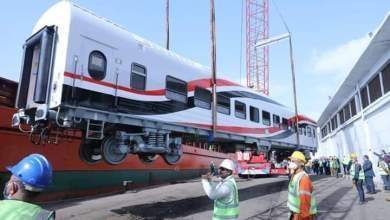 Photo of النقل :وصول العربة النموذج الأولى ضمن صفقة توريد 1300 عربة سكة حديد جديدة للركاب