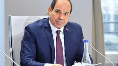 Photo of الرئيس السيسي: يدعو الشعب بالتكاتف لعبور محنة كورونا