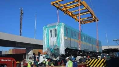 Photo of وصول أول قطار مترو أنفاق جديد ضمن صفقة تصنيع وتوريد 32 قطار مكيف جديد للعمل بالخط الثالث للمترو