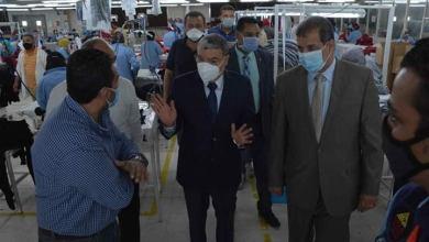 Photo of محافظ المنيا يتابع سير العمل داخل  المصانع بالمنطقة الصناعية؛ والتأكد علي استمرار عملية الإنتاج