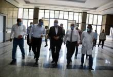"Photo of بالصور.. ""الهجان"" يتفقد مستشفى كفر شكر المركزي تمهيدا لإفتتاحها خلال 10 ايام لاستقبال حالات مرضي كورونا"