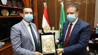 Photo of محافظ المنوفية يستقبل رئيس جامعة مدينة السادات ويكرم مدير الأمن الوطنى