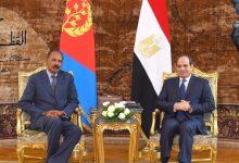 Photo of السيسي يؤكد حرص مصر على تعزيز العلاقات وترسيخ التعاون الاستراتيجي مع إريتريا