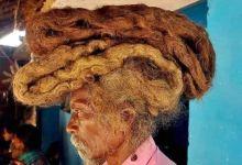 Photo of لم يغسل شعره منذ 41 عاما