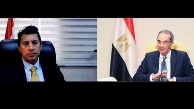 Photo of وزيرا الرياضة والإتصالات يناقشان التجهيزات الفنية لاستضافة مصر لكأس العالم لكرة اليد