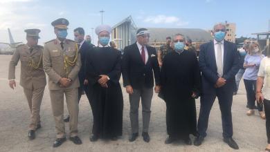Photo of وصول طائرتى مساعدات من الكنيسة والأزهر لمطار بيروت