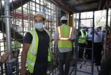 Photo of بالصور… وزير النقل يتابع أعمال التدعيم الإنشائي للركن المتضرر بعمارة الشربتلي بالزمالك