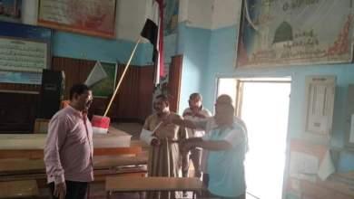 Photo of فتح الباب يتابع إزالة السلبيات بمدرسة الثانوية بنين