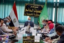Photo of الهجان يبحث مع مدير متابعة المشروعات القومية بمجلس الوزراء الموقف التنفيذى لمشروعات المحافظة