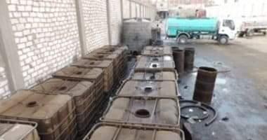 Photo of أجهزة الأمن تنجح في ضبط 80 طن سولار تمت سرقتهم من أحد خطوط البترول بالسويس