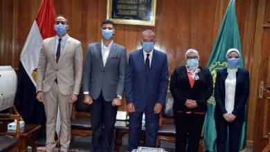 Photo of محافظ القليوبيه يستقبل وفدا من متدربي البرنامج الرئاسي لتأهيل الشباب للقيادة