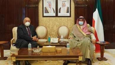 Photo of وزير الخارجية يبحث مع رئيس وزراء الكويت سبل دفع مجالات التعاون الثنائي