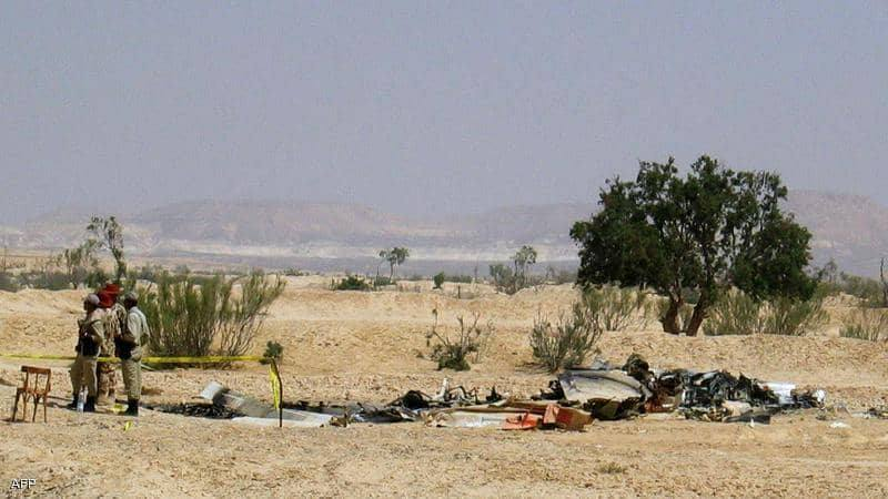 سقوط طائرة أستطلاع في جنوب سيناء