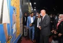 Photo of إفتتاح جدارية على الطراز الفرعونى بالمعنا قنا