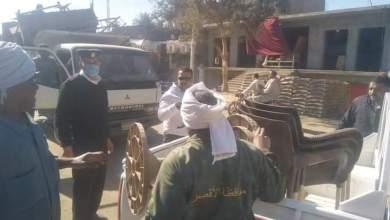 Photo of بالصور..إستمرار حمالات المرافق وإشغال الطريق بمركز ومدينة أرمنت غرب الاقصر