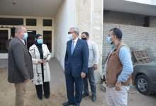 Photo of الهجان يتفقد مستشفي الحميات وبنها التعليمي لمتابعة أعمال تركيب شبكة الغازات وتنك الإكسجين