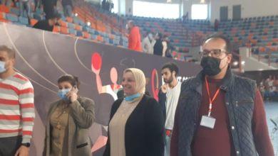 Photo of لجنة المتطوعين لبطولة العالم لكرة اليد تتابع تدريبات المتطوعين بصالة برج العرب