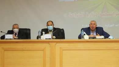 Photo of وزير الزراعة: يستعرض خطة الوزارة نحو المساهمة بصورة اكبر في تحقيق الامن الغذائي