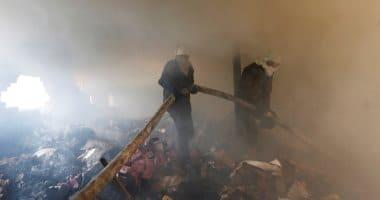 Photo of الحماية المدنية تسيطر على حريق فى حظيرة مواشى بالإسماعيلية