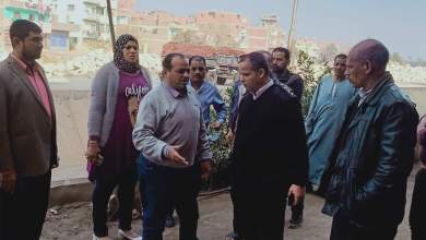 "Photo of وقف حالة بناء مخالف بقرية الأحراز في ""شبين القناطر"" ( صور)"