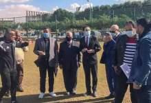 Photo of اتحاد الكرة يتابع إنشاء استاد القناة الجديد