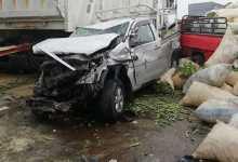 Photo of مصرع 2 وإصابة 3 إثر تصادم سيارتين على طريق العلمين- وادي النطرون