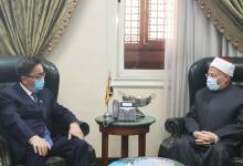 Photo of علام يبحث تعزيز التعاون الديني مع سفير كازاخستان بالقاهرة