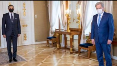 Photo of رئيس جمهورية فنلندا يستقبل سفير جمهورية مصر العربية