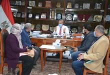 """Photo of """"محافظ القليوبية"""" يعقد اجتماعا لمناقشة مقترح لتطوير محطة قطار بنها"""