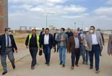 "Photo of "" الجيزاوى "" يتفقد أعمال إنشاء مبنى المدرجات ومقر جامعة بنها الأهلية بالعبور"