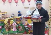 """Photo of """" مسيحي"""" يحول منزله لورشة تصنيع فوانيس رمضان"""