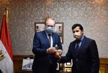 Photo of وزير الشباب والرياضة يبحث سُبل التعاون مع سفير الاتحاد الأوروبي بالقاهرة