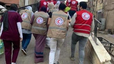 Photo of لليوم الثالث.. الهلال الأحمر بالقليوبية يواصل دعم مصابي حادث قطار طوخ