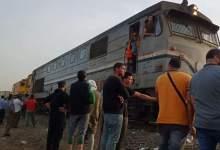 """Photo of الصحة: وفاة 11 شخصًا وإصابة 98 آخرين في حادث """"قطار طوخ"""""""