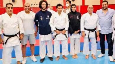 Photo of أبطال منتخب الكاراتية يهدون نتائجهم بالدوري العالمي إلى وزير الشباب والرياضة
