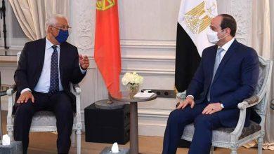 Photo of الرئيس السيسي يلتقي رئيس وزراء البرتغال بمقر إقامته في باريس
