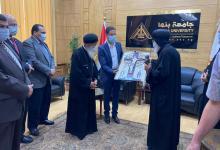 """Photo of لتقديم التهنئة بعيد الفطر: """"الجيزاوي"""" يستقبل وفدا من الكنيسة القبطية الأرثوذكسية"""