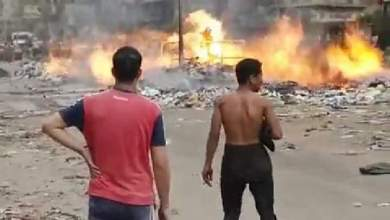 Photo of عاجل  اندلاع حريق بكابينة غاز بمنطقة قهوة شرف في شبرا الخيمة.. فيديو