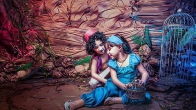 Photo of طفلة تعيش يوم فى الكارتون المفضل لها بفوتوسيشن مميز