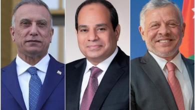 Photo of بدء أعمال القمة الثلاثية بين مصر والعراق والأردن في بغداد