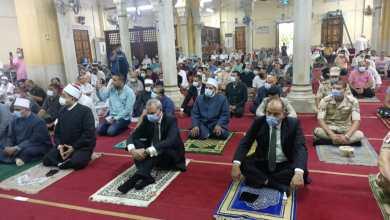 """Photo of الهجان"""" يؤدي صلاة عيد الأضحى المبارك بمسجد ناصر وسط فرحة المواطنين بحلول العيد"""