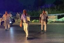 Photo of انقلاب سيارة نقل علي الطريق الزراعي