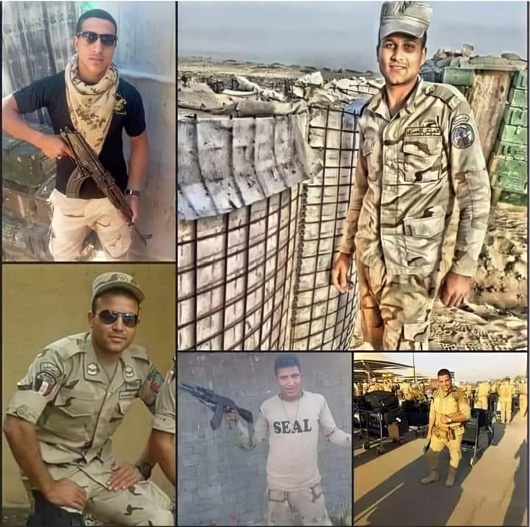 هجوم ارهابي استشهاد 5 وأصابة 8 من ابطال القوات المسلحة والشرطة كمين زلزال 13