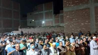 Photo of تشييع جثمان الشهيد محمد صلاح الغندور في جنازة عسكرية ببنها