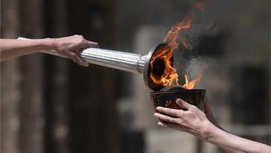 Photo of إيقاد شعلة أولمبياد بكين الشتوية لعام 2022 في أولمبيا باليونان