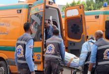Photo of بلاعة صرف صحي تتسبب في إصابة شخصين على طريق مسطرد