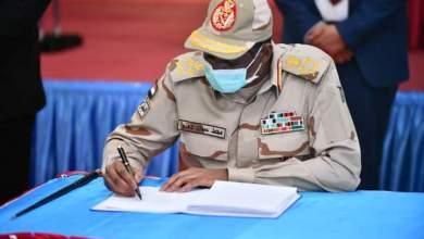 دقلو: التوقيع على السلام يمثل ميلاد فجر جديد لبلادنا