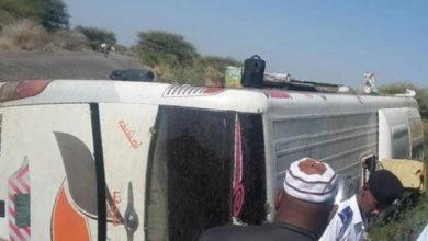 حادث مروري مروع بمدخل مدينة الابيض