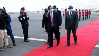 حمدوك يصل جيبوتي لترأس قمة الإيقاد الاستثنائية